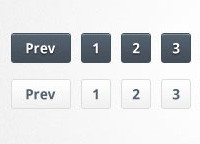 Slick Pagination Links PSD &#038; CSS